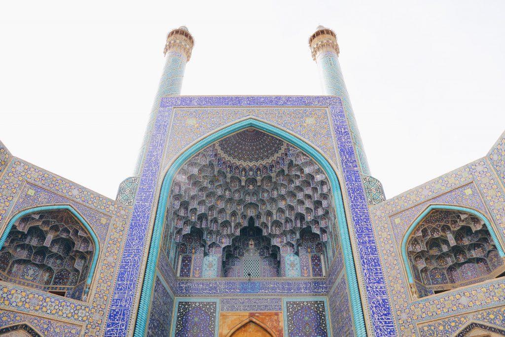 イマーム広場 シャーモスク(王のモスク)